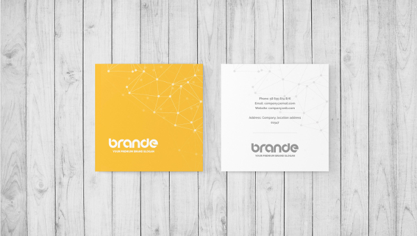 Square Business Card