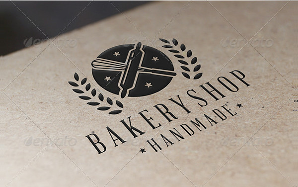 Unique Bakery Shop Logo Template