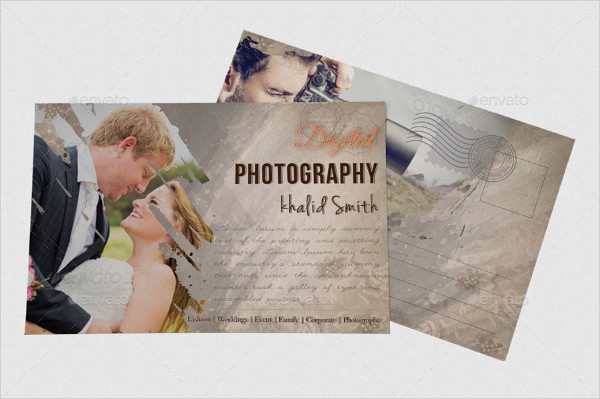 Wedding Photography Business Card & Postcard Templates