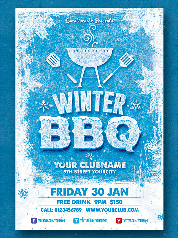 Bbq Invitation Template - 31+ Free & Premium Download