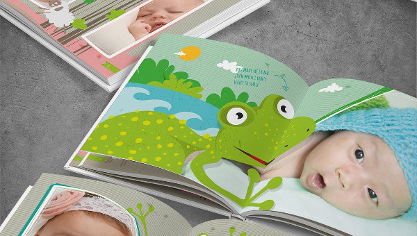 Baby Photo Album Template