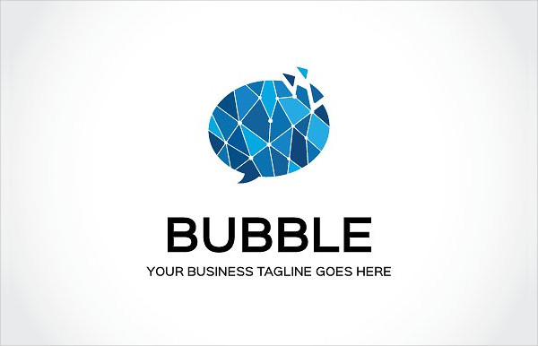Stylish Logo Template of Bubble