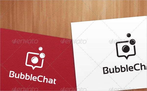 Bubble Chat Logo Templates