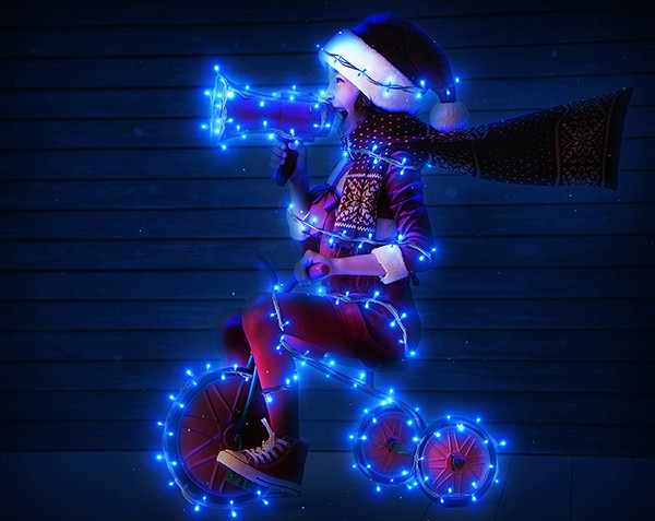 19 christmas photoshop actions free premium download for Lamp light photoshop