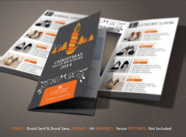 Christmas Brochure Templates Free Premium Download - Sales brochure template