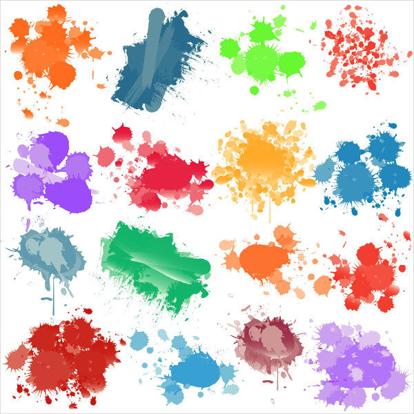 paint splatter brush photoshop