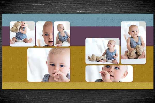 Colorful Photobook Templates Bundle