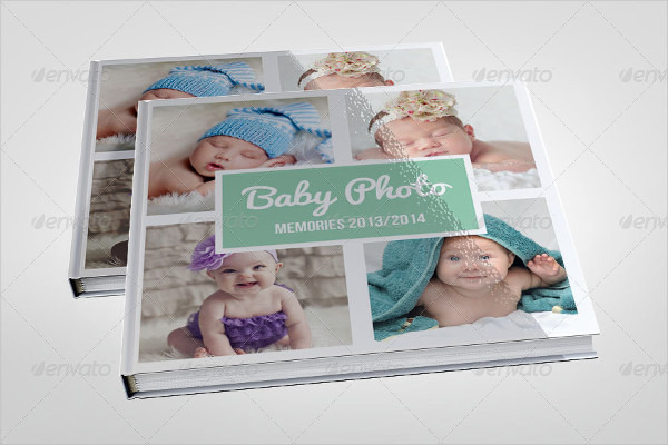 Cute Baby Photo Album Template