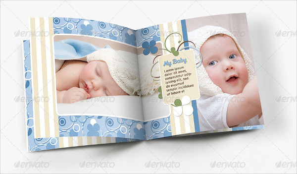 My Baby Photo Album Template