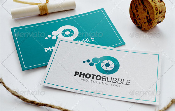 Photo Bubble Logo Template