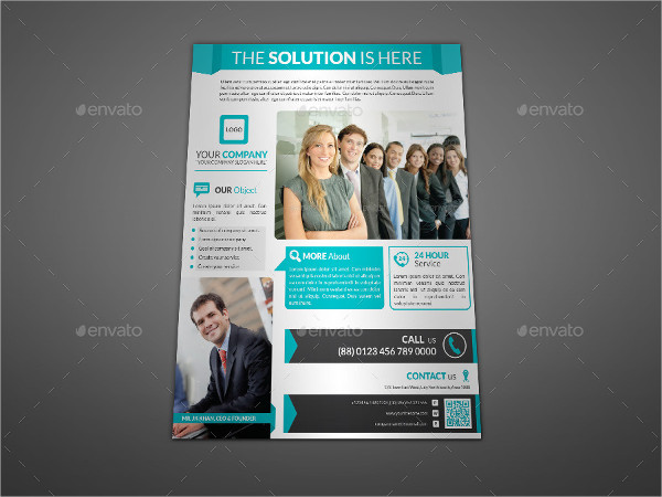 Professional Flyer Template for Corporate Business
