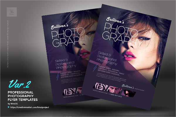 Professional Photography Flyer Template