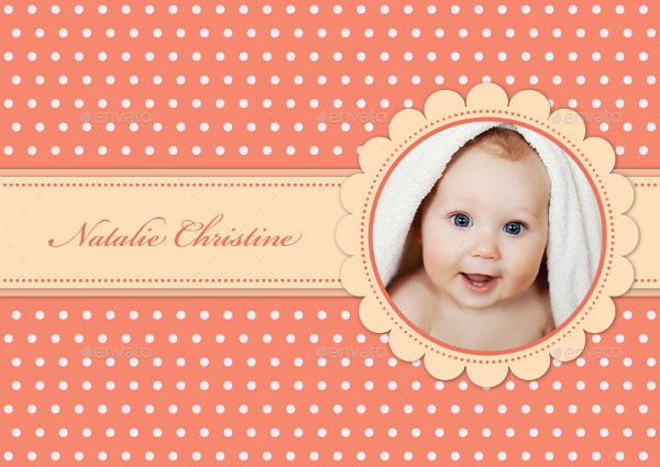 Simple Baby Photo Album Template