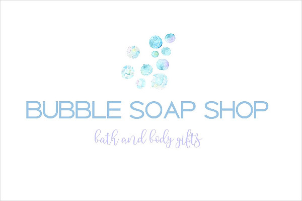 Soap Shop Logo Template