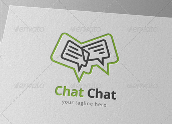 Speak Chat Bubble Logo