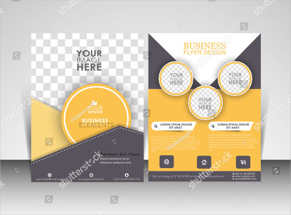 Vector Professional Flyer Template
