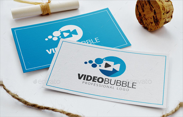 Video Bubble Professional Logo Template