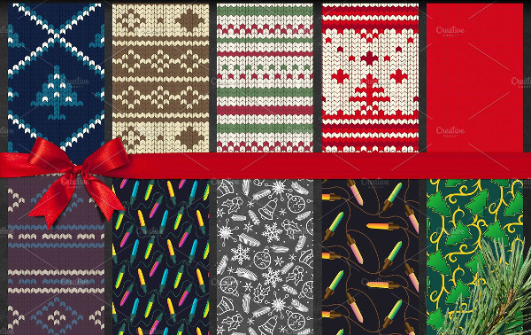 50 Vintage Christmas Patterns