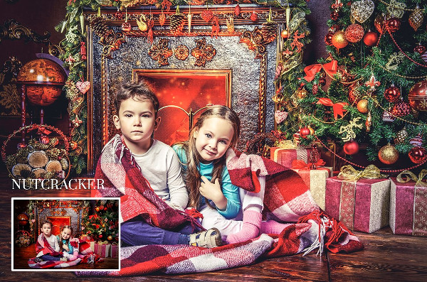 Winter & Christmas Photoshop Actions Bundle