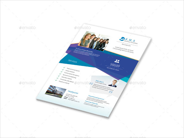 Business Consulting Services Flyers