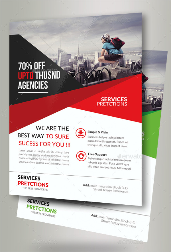 Business Solution Consultant Flyers