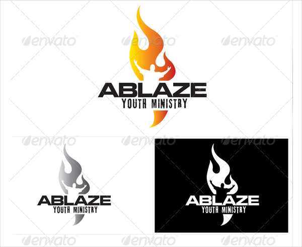 Popular Church Youth Logo Template