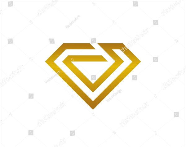 Popular Diamond Logo Template
