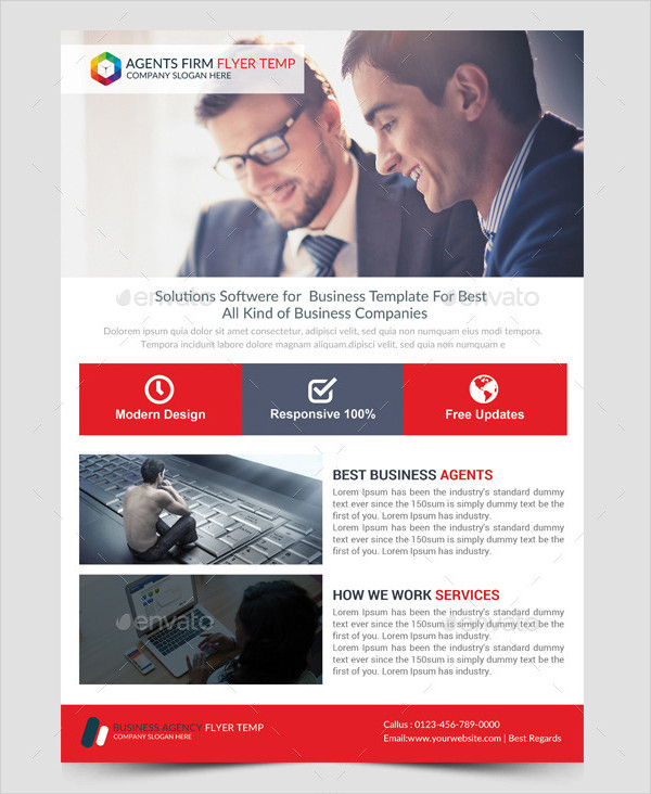 Consulting Business Corporate Flyer Template