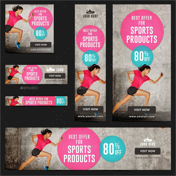 Best Sports Products Banner Templates