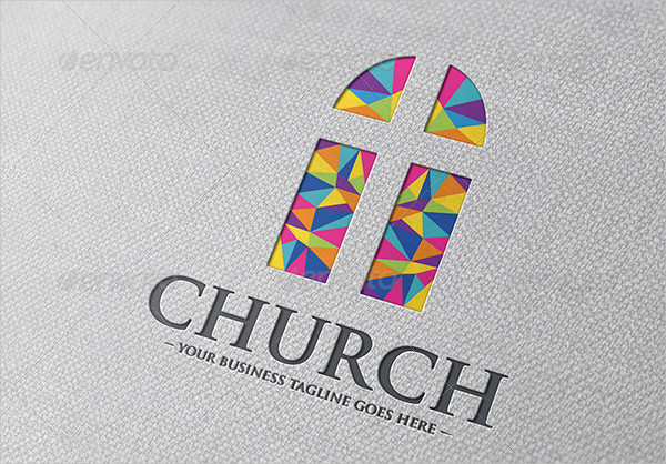 Creative Church Logo Template