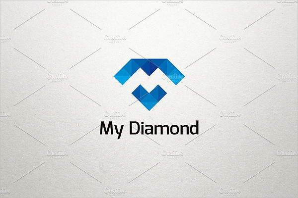 My Diamond Pixel Logo Template