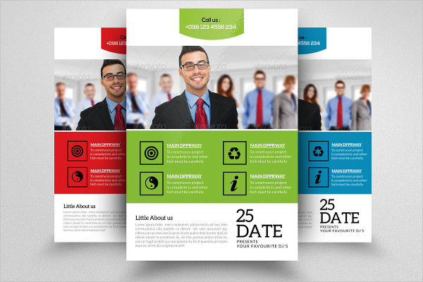 HR Consulting Business Flyer Template