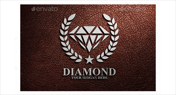 Luxury Diamond Business Logo Template