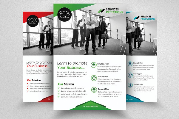 HR Management Consulting Flyer Template