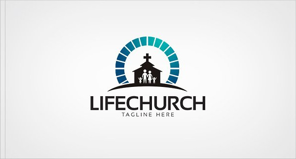 Clean Life Church Logo Template