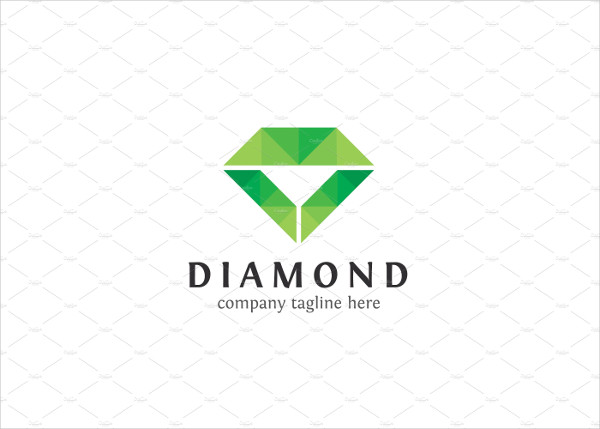 Luxury Diamond Shop Logo Template