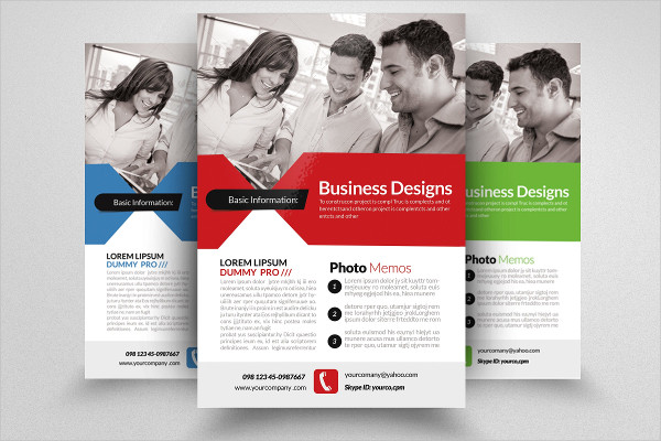 Stylish Marketing Business Consulting Flyer Design