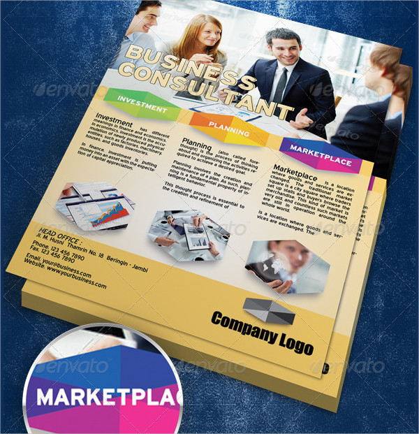 Perfect Business Consultant Flyer Template