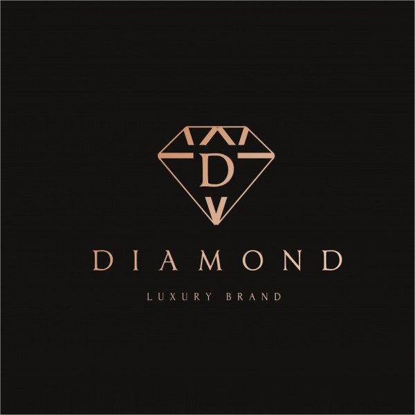 Free Vector Diamond Logo Design