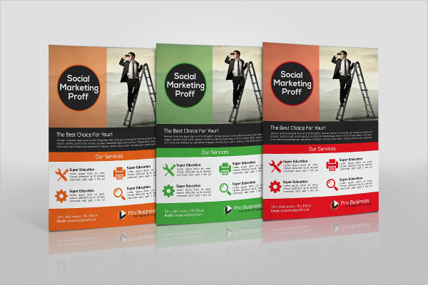 Printable Consulting Business Flyer Template