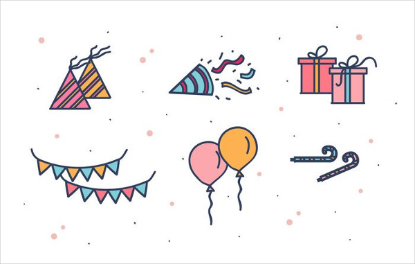 Free Download Party Favors Icons