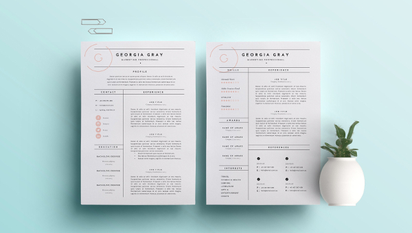 a professional resume template is one of the most important necessities that you would be required if you are aiming to get hired by your dream company - Professional Resumes Templates