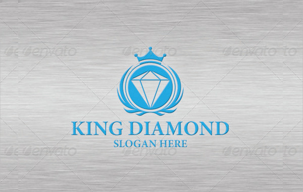 Royal Diamond Logo Template