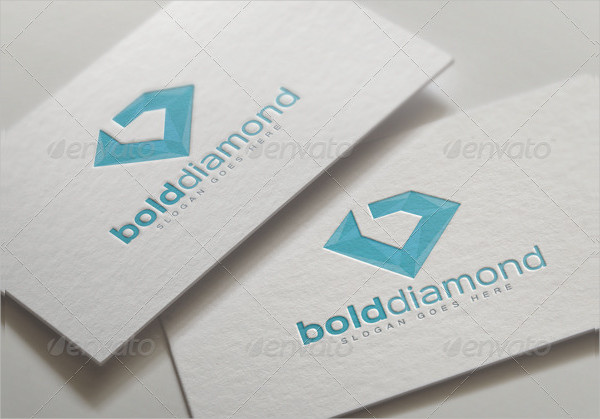Branding Diamonds Logo Template
