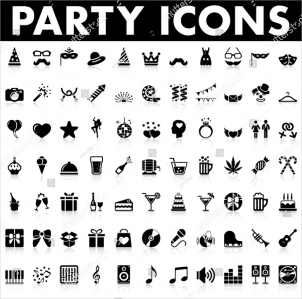 Wedding Party Icons