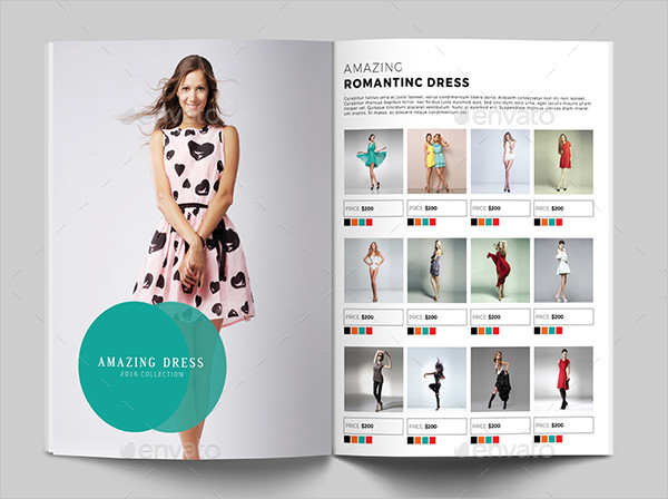 Minimal Fashion Product Display Brochure Template