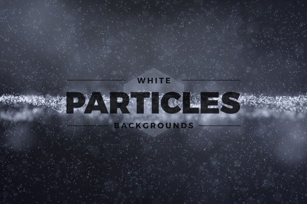 11 Abstract White Particles Backgrounds