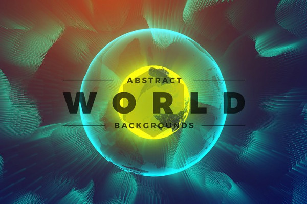 13 Abstract World & Particles Backgrounds