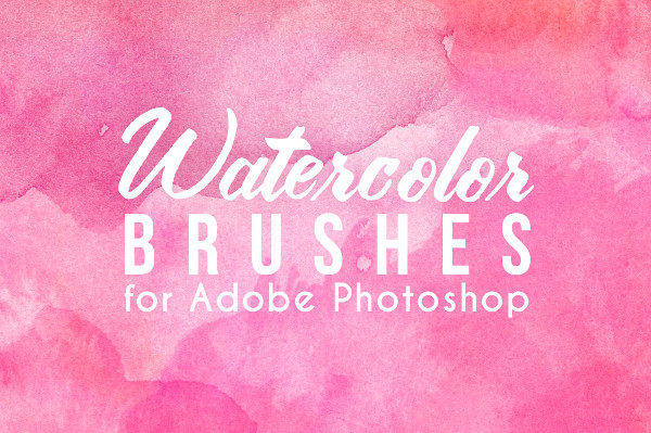 75 Real Watercolor Photoshop Brushes