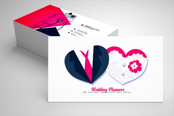Business Cards for Wedding Decorators